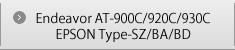 Endeavor AT-900C/920C/930C EPSON Type-SZ/BA/BD